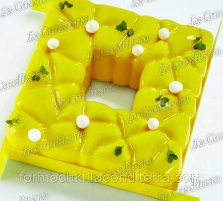 Форма для десертов PAVONI KE037 Square