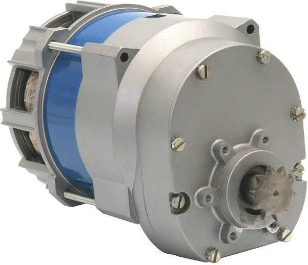 Oднофазные асинхронные двигатели с редуктором J46X