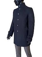 Пальто мужское черное №602/9 зима - СВ-157, фото 1