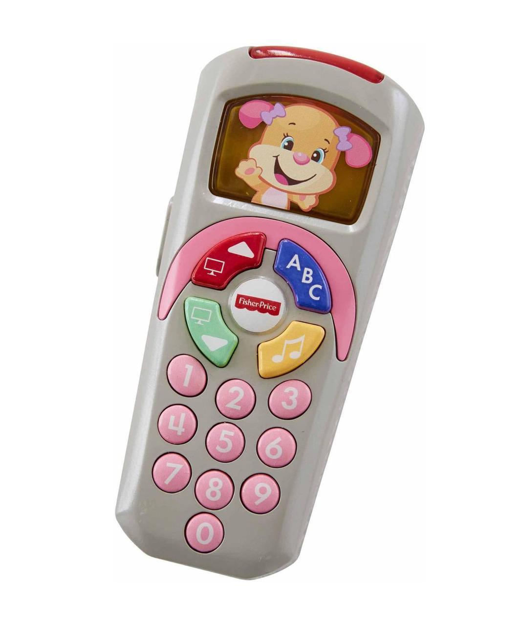 Розвиваюча іграшка Fisher Price Розумний пульт рожевий (рос. мова) DLK75