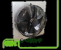 Вентилятор канальный осевой монтаж пластиной к стене C-OZA-P-045-220