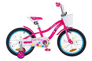 """Велосипед дитячий 18 """"Formula Alicia 2018 з кошиком для дівчинки Уцінка!"""
