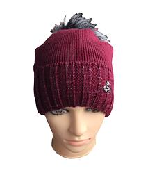 Женское тёплая шапка