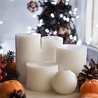 Декоративні свічки 5 шт набір