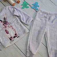 Тепла махрова піжамка для дівчинки на 2-3 роки PRIMARK