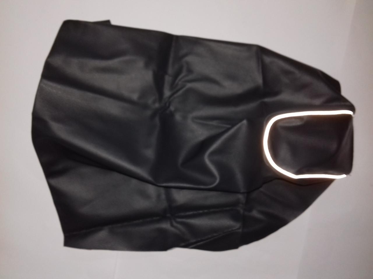 Чехол сиденья LETS I/II/III темносерый, светоотражающий кант JOHN DOE