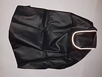 Чехол сиденья LETS 1/2/3 темносерый, светоотражающий кант 'JOHN DOE'