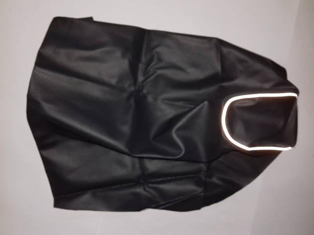 Чехол сиденья LETS I/II/III темносерый, светоотражающий кант JOHN DOE, фото 2