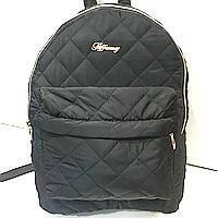 Рюкзаки женские стёганные (черный)30*36см, фото 1