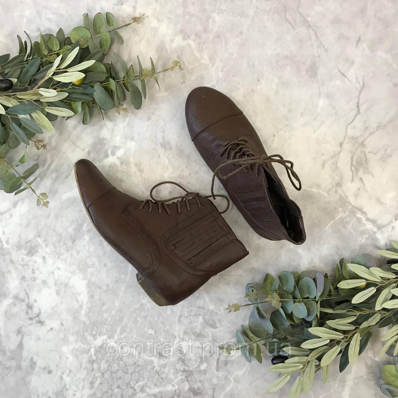 Кожаные ботинки в стиле Мери Джейн  SH1849090