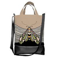 Городская сумка City Насекомое 34х40х11 см (SCB_TRO023_BL)