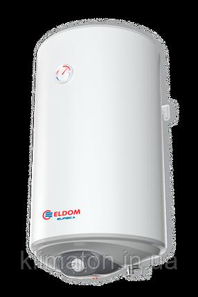 Водонагрівач ELDOM EUREKA WV08046D 80 L 2,0 kW (slim), фото 2