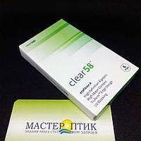 Контактні лінзи Clear 58 UV (6 штук), фото 1