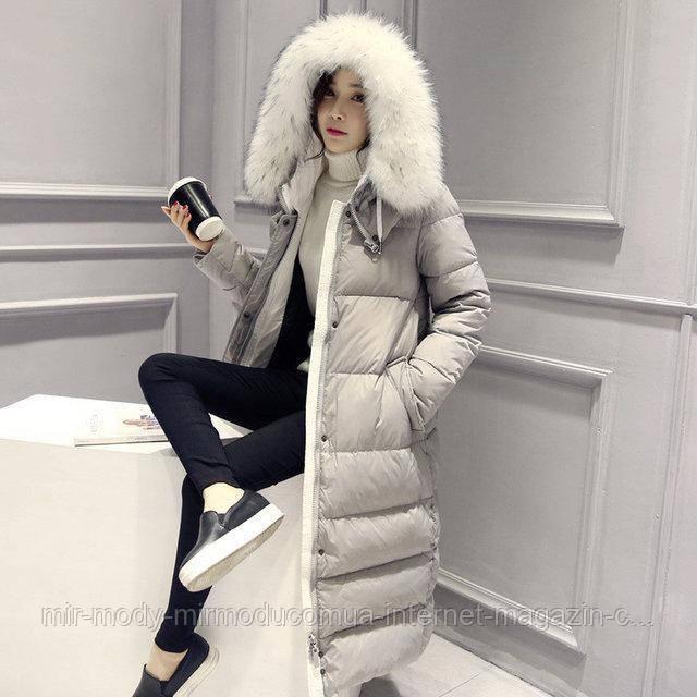 Пуховик женский Winter AL-7809-75 с 44 по 48 размер (ал)