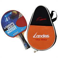 Ракетка для настольного тенниса Landers 5 star  , в чехле