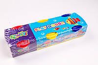 Моделин, тесто (масса для лепки) №2061, 3 цвета по 60 грамм, товары для творчества, фото 1