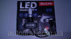 RIVCAR Лампа LED CSP V1 6000K H7