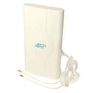 Антенна комнатная ANTENITI 3G/4G LTE MIMO 9 dbi (+2м кабеля)