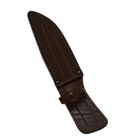 Чехол для ножа плоский - кожа № 3