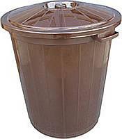 Бак для мусора Горизонт 30л 2041 (мусорный бак), фото 1