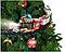 Новогоднее украшение на елку поезд Санты (Игрушечная детская железная дорога), фото 2