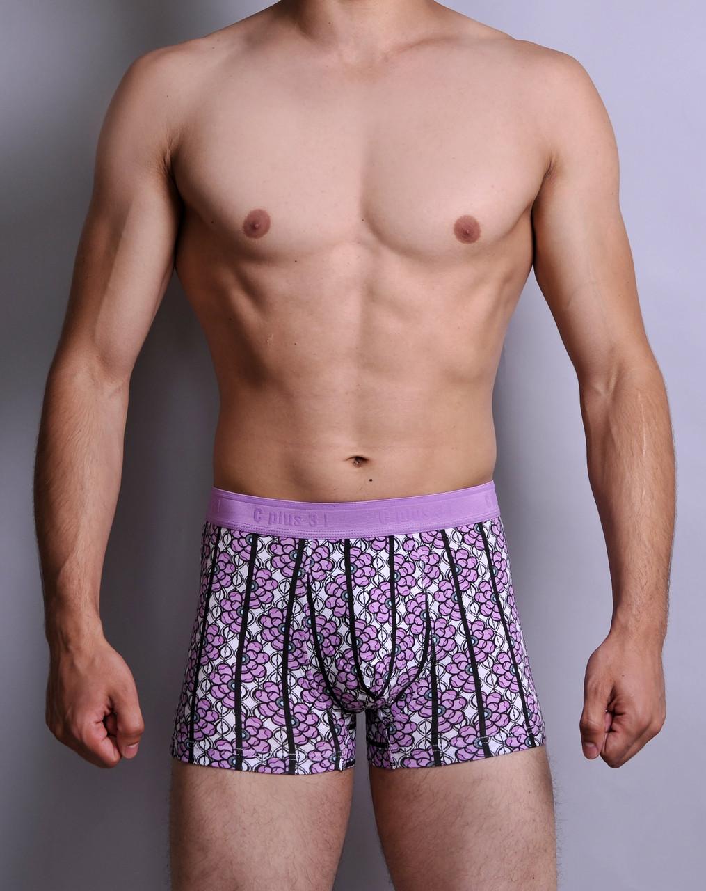 Чоловічі труси - боксери C+3 829 XXL рожеві