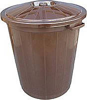 Бак для мусора Горизонт 65л 2043 (мусорный бак), фото 1