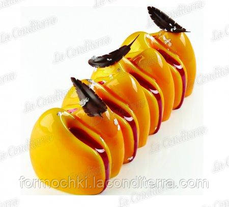 Силиконовая форма для десертов PAVONI Canyon KE040 (1150 ml)