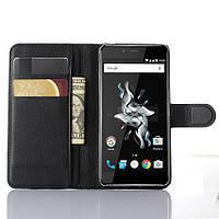 Чехол книжка для OnePlus X Черный