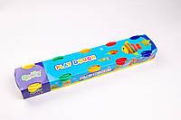 Моделин, тесто (масса для лепки) №2063, 5 цветов по 60 грамм, товары для творчества