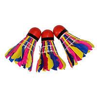 Набор цветных перьевых воланов HAO-909-4 (4 шт)