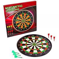 Мишень для игры в дартс магнитная ZBL-17018, диаметр 46см