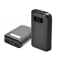 Внешняя батарея Power Bank REMAX PRODA, цифровой дисплей, фонарик 1LED -132