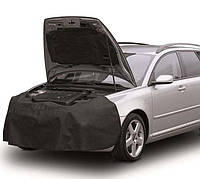 Защитный чехол (на перед авто, многоразового использования, черный, флизелин ) FRONT