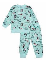 Пижама детская с начесом для мальчика