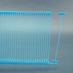 Пластиковый соединитель для игольчатого пистолета 5 см (цвет по запросу)