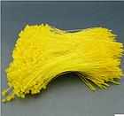 Кольцевой ручной соединитель (ярлыкодержатель)  для крепления бирок и ярлыков 12 см (зеленый, розовый, голубо), фото 4