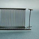 Пластиковый соединитель для крепления бирки, ярлыка  под игольчатый пистолет (черный, белый 35 мм, 50 мм), фото 2