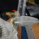 Пластиковый соединитель для крепления бирки, ярлыка  под игольчатый пистолет (черный, белый 35 мм, 50 мм), фото 3