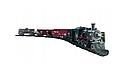 Детская железная дорога Большой Коллекционный торговый поезд с фонарем и дымом Roil King, фото 3