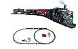 Детская железная дорога Большой Коллекционный торговый поезд с фонарем и дымом Roil King, фото 6