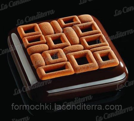 Форма для десертов PAVONI TOP01 Maya (верхняя часть десерта)