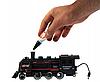 Детская железная дорога Большой Коллекционный торговый поезд с фонарем и дымом Roil King, фото 7