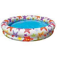 Надувной бассейн Intex Звездочки для детей от 3 до 6 лет, 134 л