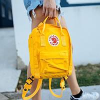 Рюкзак портфель сумка Fjallraven Kanken Classic Канкен Фьялравен текстиль 16литров 8 цветов реплика