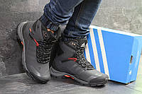 Мужские зимние ботинки серые Adidas Climaproof 6854