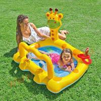 Надувной бассейн Intex Жираф для детей от 1 до 3 лет, 53 л