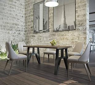 Стіл обідній в стилі Лофт Прайм Метал-Дизайн