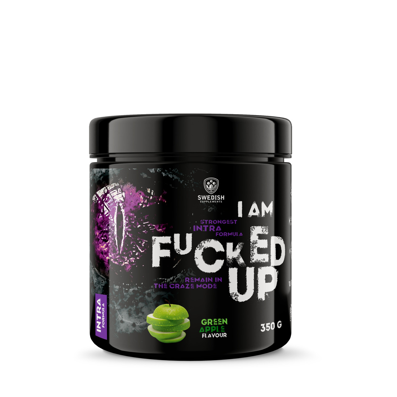 Swedish supplements - Fucked Up Intra - Green Apple