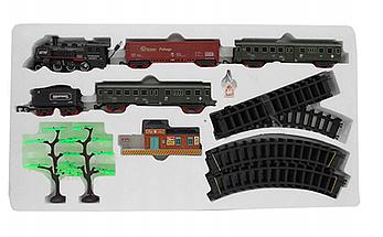 Большая Детская железная дорога с фонарем и димом , фото 2